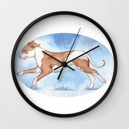 Pit bull Rescue Wall Clock