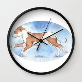 Pit bull Rescue Wall Clock