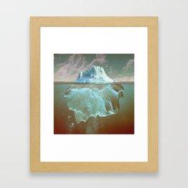 Mistook Framed Art Print