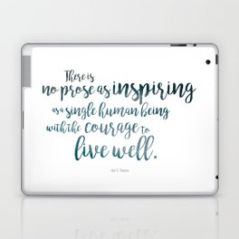 """Inspiring"" Ornate Laptop & iPad Skin"