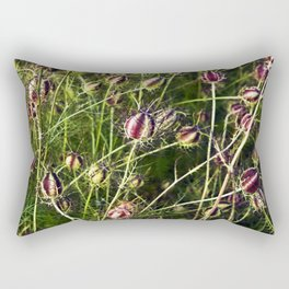 LOVE in a Mist - NIGELLA damascena Rectangular Pillow