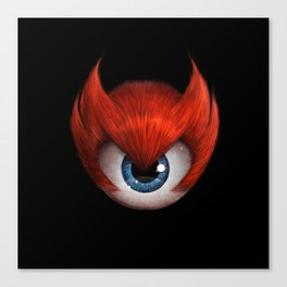 The Eye of Rampage Canvas Print