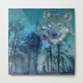 The Wild is Calling Metal Print