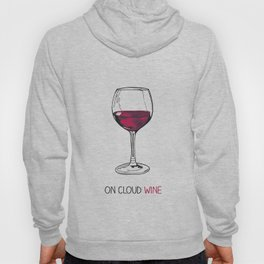 On Cloud Wine Hoody
