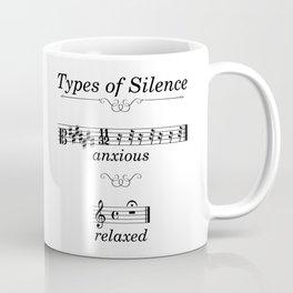 Types of silence Coffee Mug