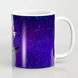 Space Kitten Coffee Mug