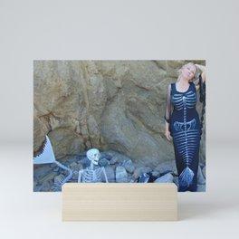 """""""Skull N Bones"""" by Vamplified Mini Art Print"""
