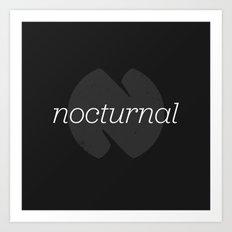 Nocturnal Art Print