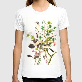 Great Cinereous Shrike, or Butcher Bird T-shirt