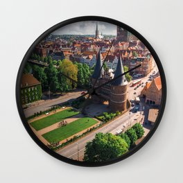Germany's Medieval city - Lubeck Wall Clock