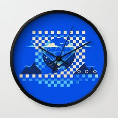 Chaos Emerald Wall Clock