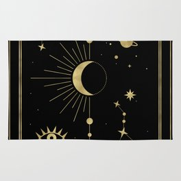 The Moon or La Lune Gold Edition Rug