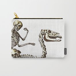 Horse Skeleton & Rider Carry-All Pouch
