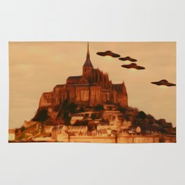 UFO Invasion Rug