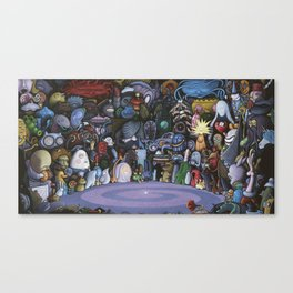 The God Particle Canvas Print