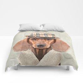 The stylish Mr Dachshund Comforters