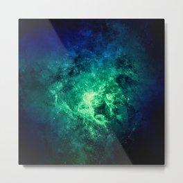 Nebula Space v9 Metal Print