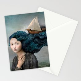 Message from the Sea Stationery Cards
