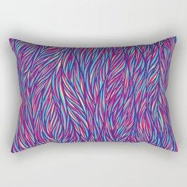 Color Fur Rectangular Pillow