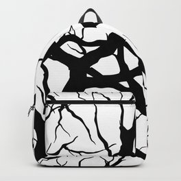 Black n White branche Backpack