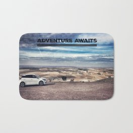 An Adventure Awaits You Bath Mat