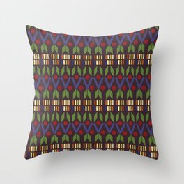 Geometric Shapes Throw Pillow