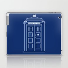 TARDIS Blueprint - Doctor Who Laptop & iPad Skin