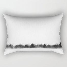 Billowing Snow Rectangular Pillow