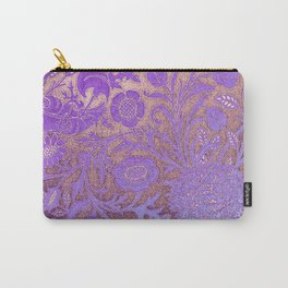 Wiiliam Morris revamped, art nouveau pattern Carry-All Pouch