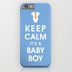 Keep Calm It's A Baby Boy iPhone 6s Slim Case