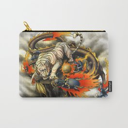 Dragon and White Tiger Carry-All Pouch