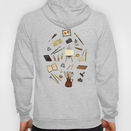 Creative Artist Tools - Watercolor Hoody
