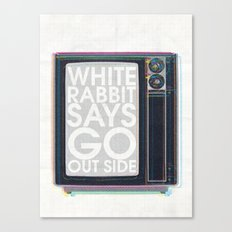 Go Out Side Canvas Print