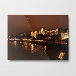 View From Waterloo Bridge #02 Metal Print