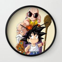 Goku & Krilin Wall Clock