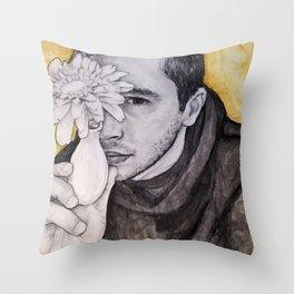Tyler Joseph - Floral Throw Pillow