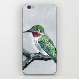 Hummingbird iPhone Skin