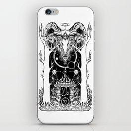 Ritual of Capricorn iPhone Skin