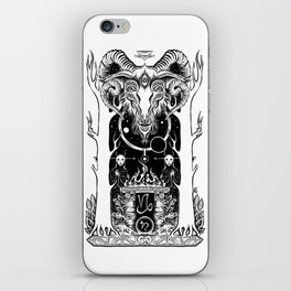 Ritual of Capricorn iPhone Skin