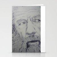 gandalf Stationery Cards featuring Gandalf by Sketchr94