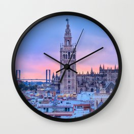 Sevilla, Spain Wall Clock