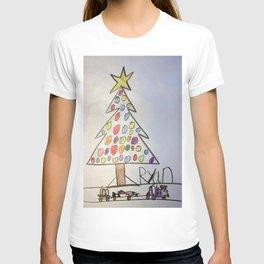 Christmas Tree Train T-shirt