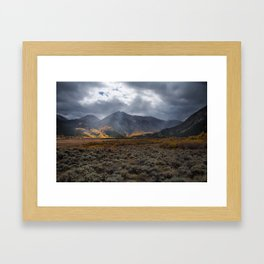 Fall Colors on La Plata Peak Framed Art Print