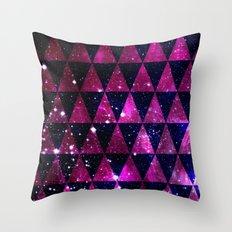 Through Space Throw Pillow