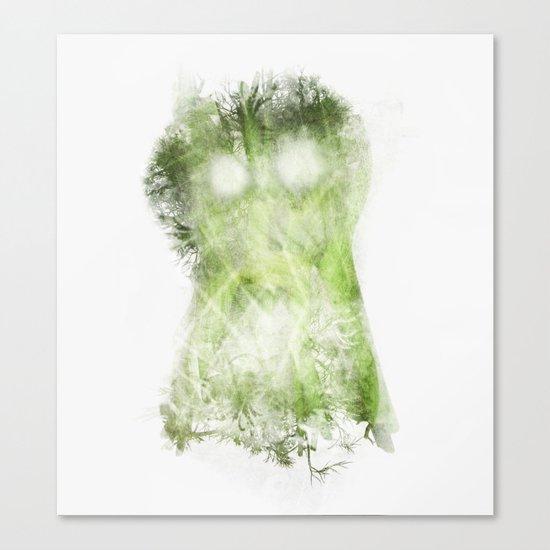 phantom vegetable Canvas Print