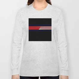 Team Colors 5...Red,blue Long Sleeve T-shirt