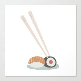 Sushi time Canvas Print