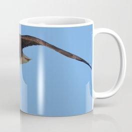 Eagle In Flight - Alaska Coffee Mug