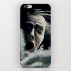 Man overboard iPhone & iPod Skin
