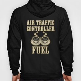 Air Traffic Controller Coffee ATC Flight Control graphic Hoody